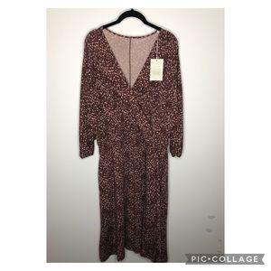 NWT Garnet Hill Wrap Dress